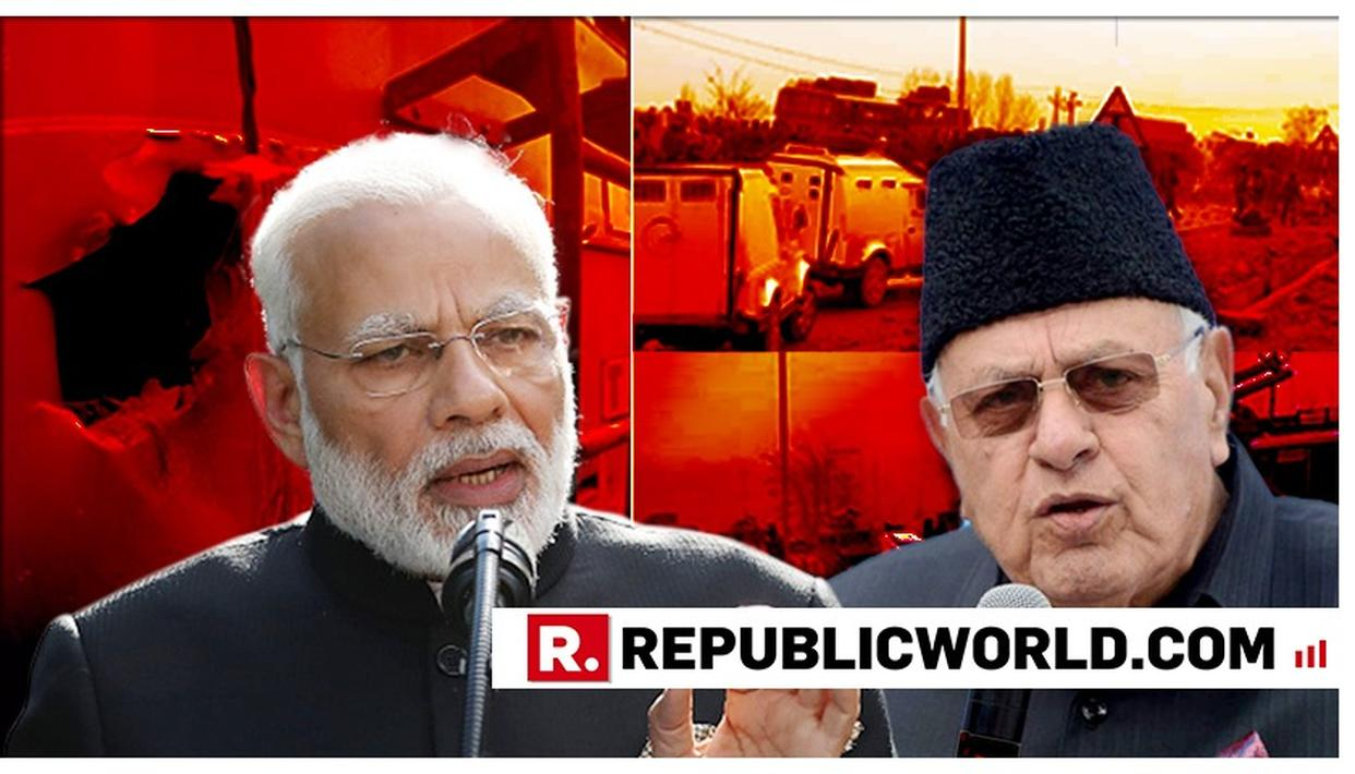 """WATCH: """"BJP WANTS TO WIN BY DIVIDING COMMUNITIES"""", FAROOQ ABDULLAH DRAWS ELECTION LINK TO PM MODI'S 'PULWAMA ATTACK REVENGE CALL'"""