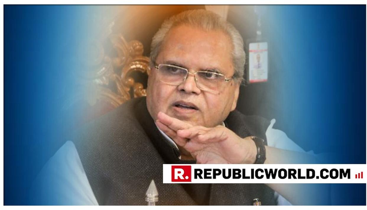 J&K GOVERNOR CALLS FOR CALM, ASKS PEOPLE NOT TO BELIEVE IN RUMOURS