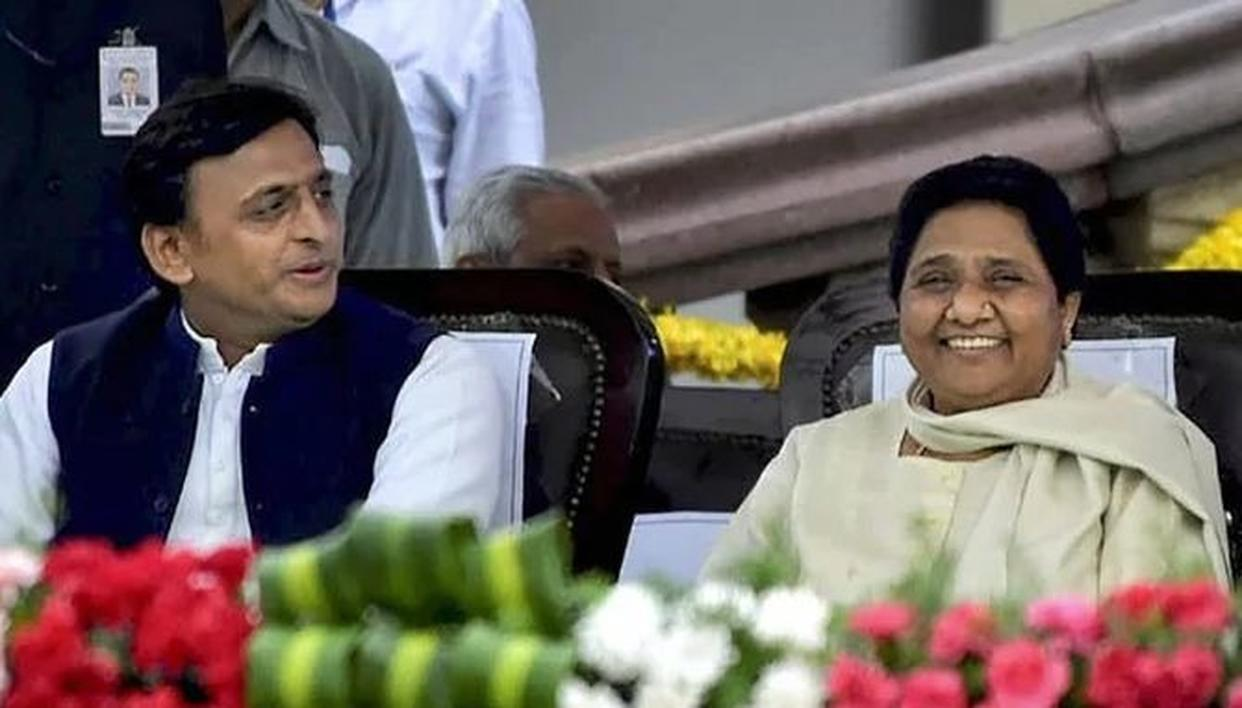 AFTER UTTAR PRADESH, BSP-SP EXTEND 'GATHBANDHAN' TO MADHYA PRADESH, UTTARAKHAND; SNUB CONGRESS