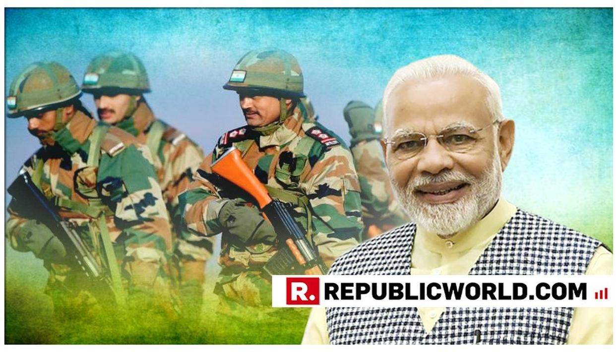 """""""WORLD IS STANDING SHOULDER TO SHOULDER WITH INDIAN FORCES"""": PM MODI"""