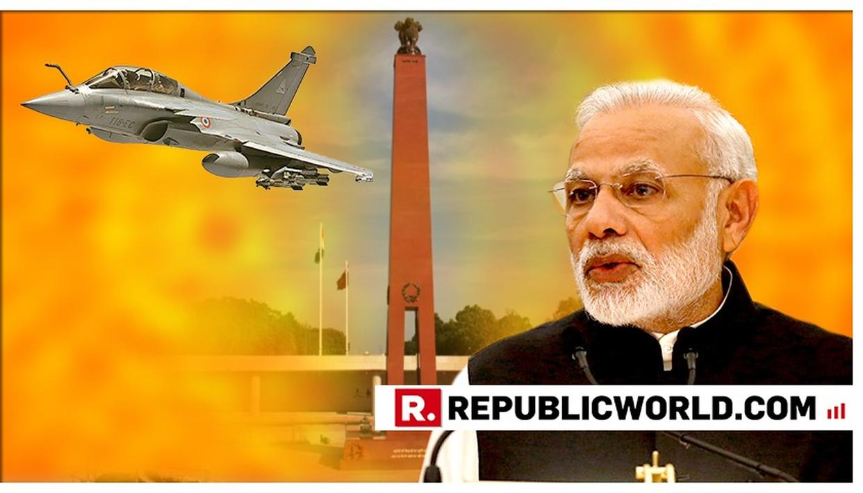 "WATCH THIS: ""WHEN RAFALE TAKES TO INDIA'S SKIES, IT'LL SILENCE THE CONSPIRACY THEORIES BY ITSELF"", SAYS PM MODI BLASTING THE CONGRESS"