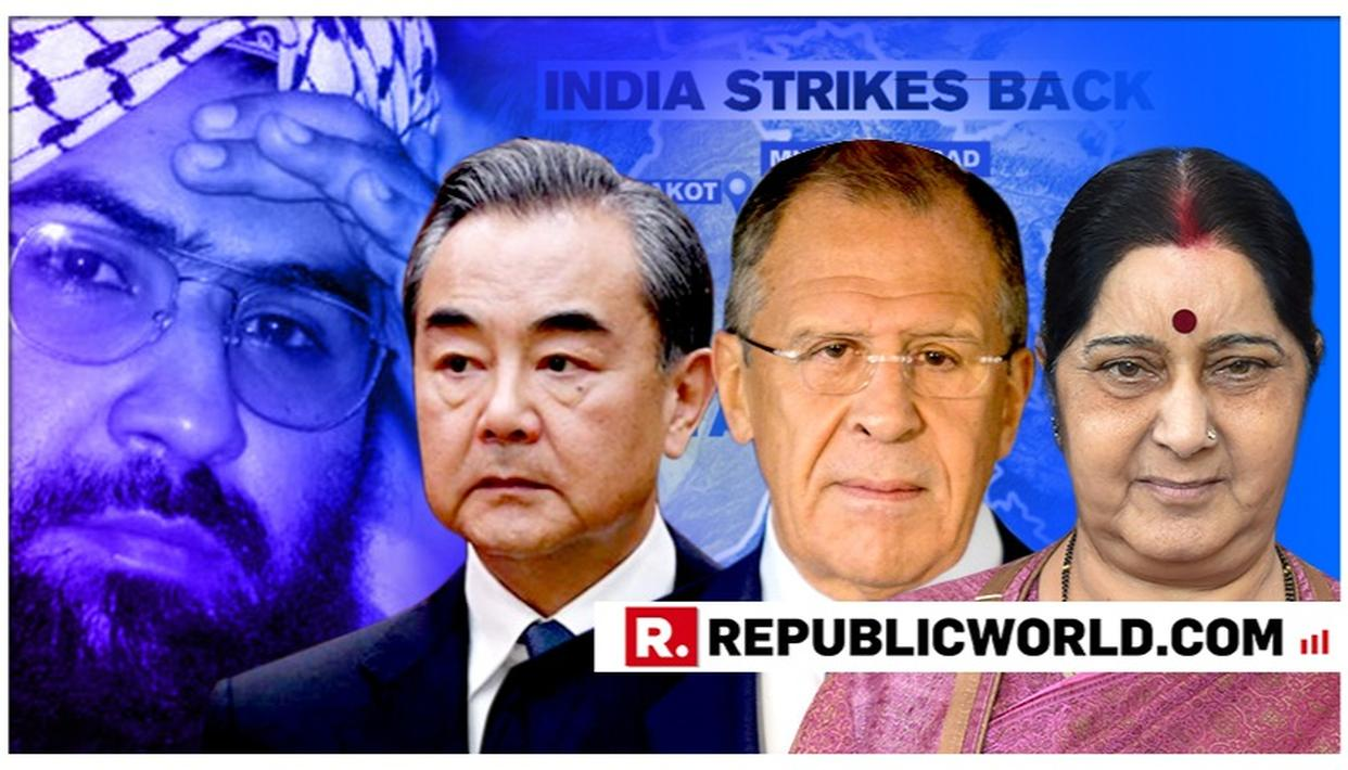 JeM CHIEF AZHAR'S LISTING AS GLOBAL TERRORIST MAY FIGURE AT RIC FOREIGN MINISTERS MEET IN CHINA