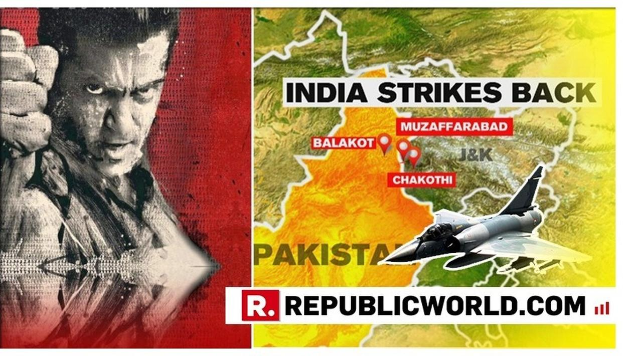 SALMAN KHAN SAYS 'JAI HO' AFTER INDIA CONFIRMS AIR STRIKE ON BIGGEST JAISH TERROR CAMP