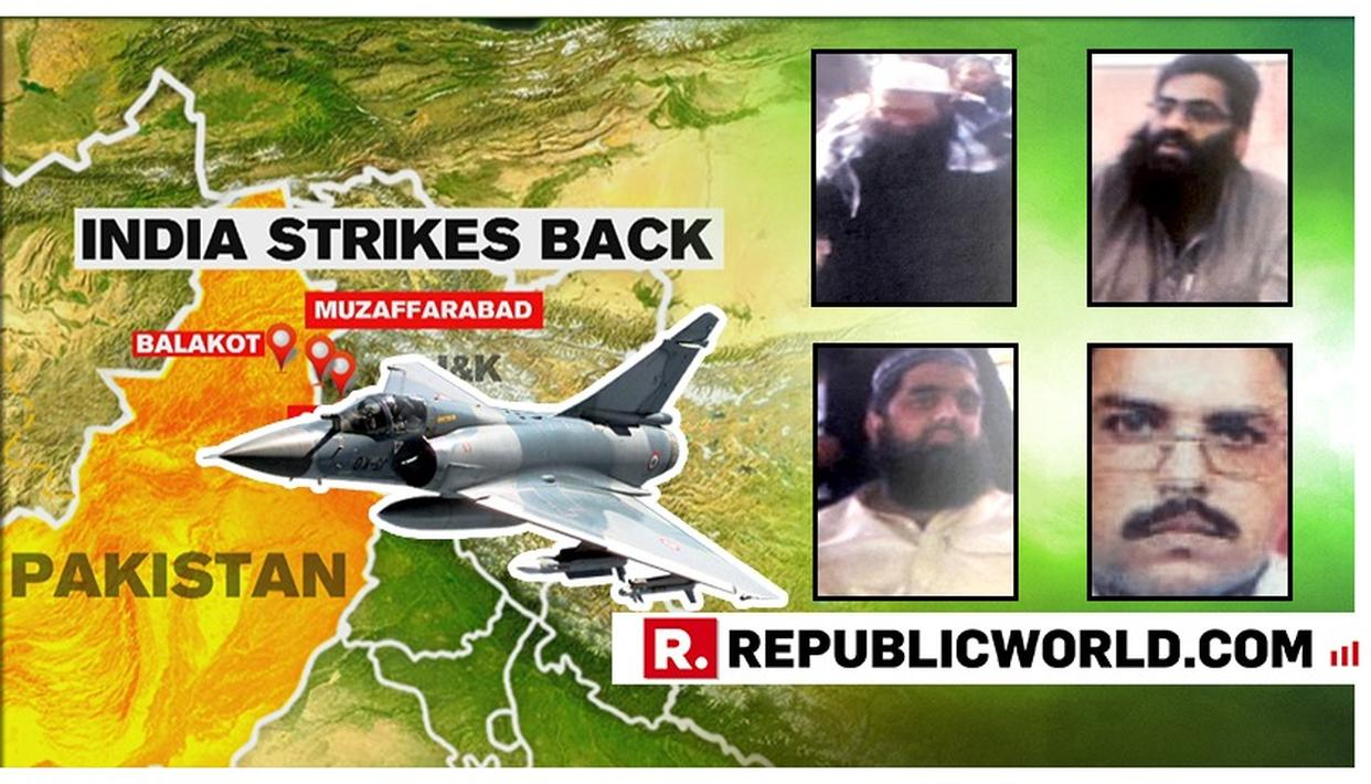 BROTHERS OF MASOOD AZHAR AMONG KEY JEM TERRORISTS TARGETED IN INDIA'S STRIKE ON PAKISTAN