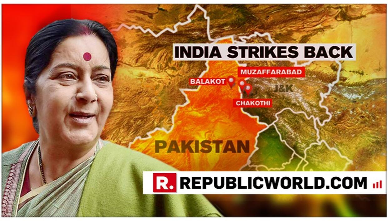 SWARAJ SPEAKS TO COUNTERPARTS IN US, CHINA, SINGAPORE, BANGLADESH, AFGHANISTAN: SOURCES