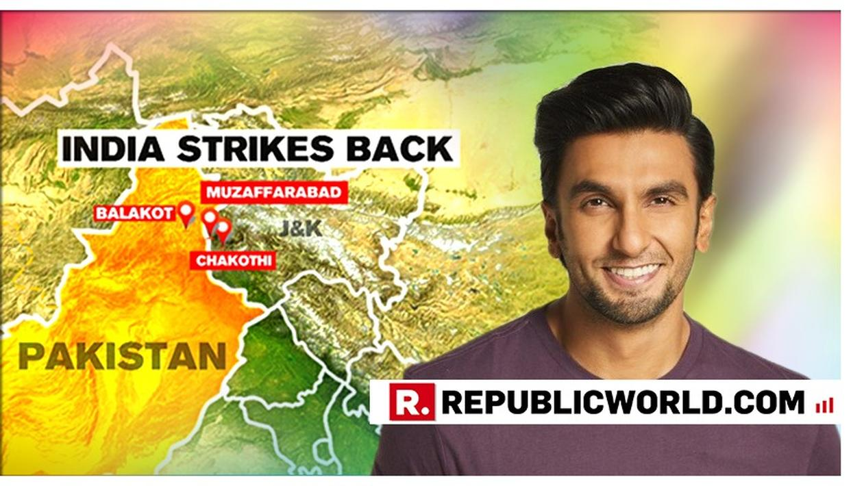 RANVEER SINGH HAILS THE IAF AFTER INDIA'S PRECISION STRIKE ON PAKISTAN