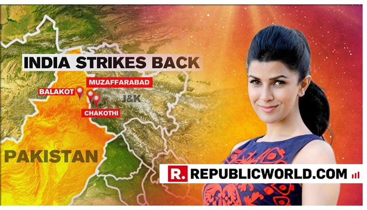 NIMRAT KAUR 'SALUTES THE DAREDEVIL DOZEN' IAF PILOTS AFTER INDIA STRIKES PAKISTAN AND DECIMATES JAISH TERROR CAMPS