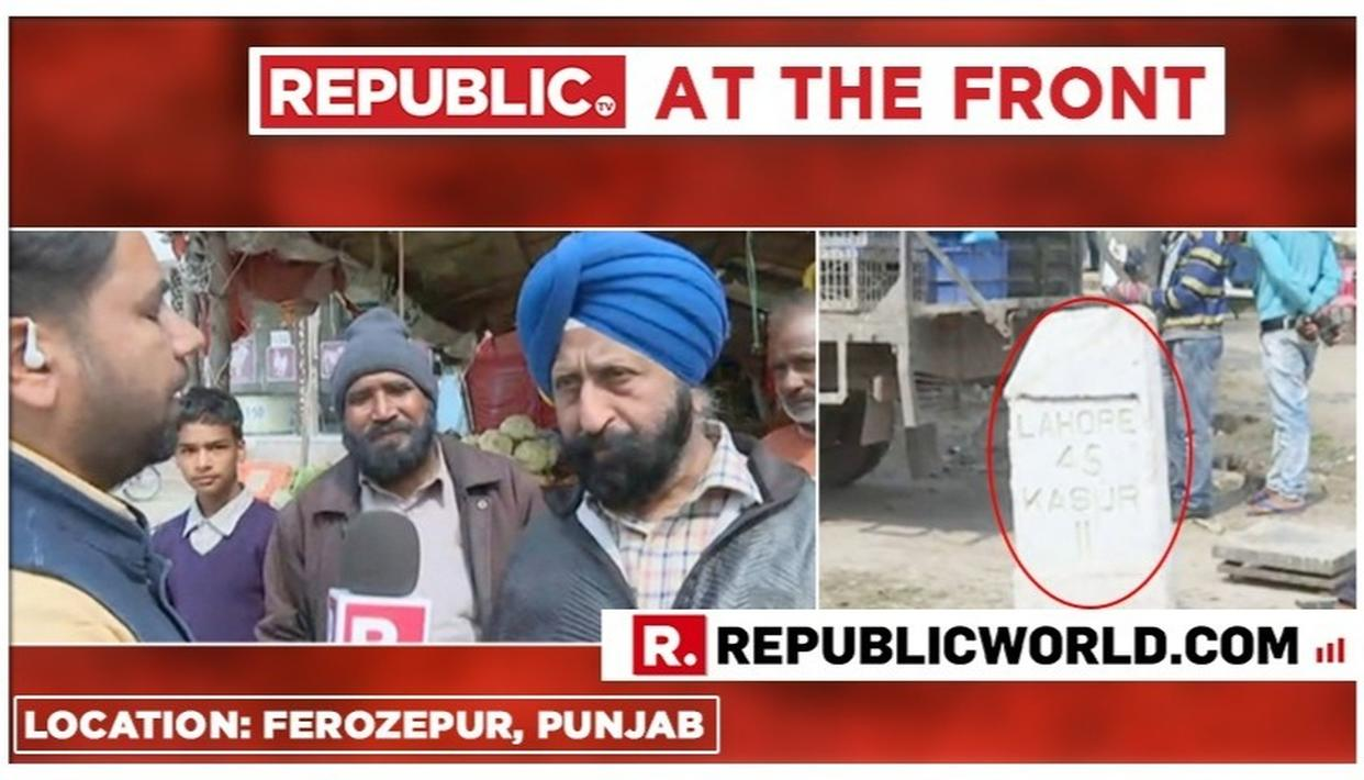 REPUBLIC AT THE FRONT: NORMALCY AT BORDER VILLAGE IN FEROZEPUR IN PUNJAB