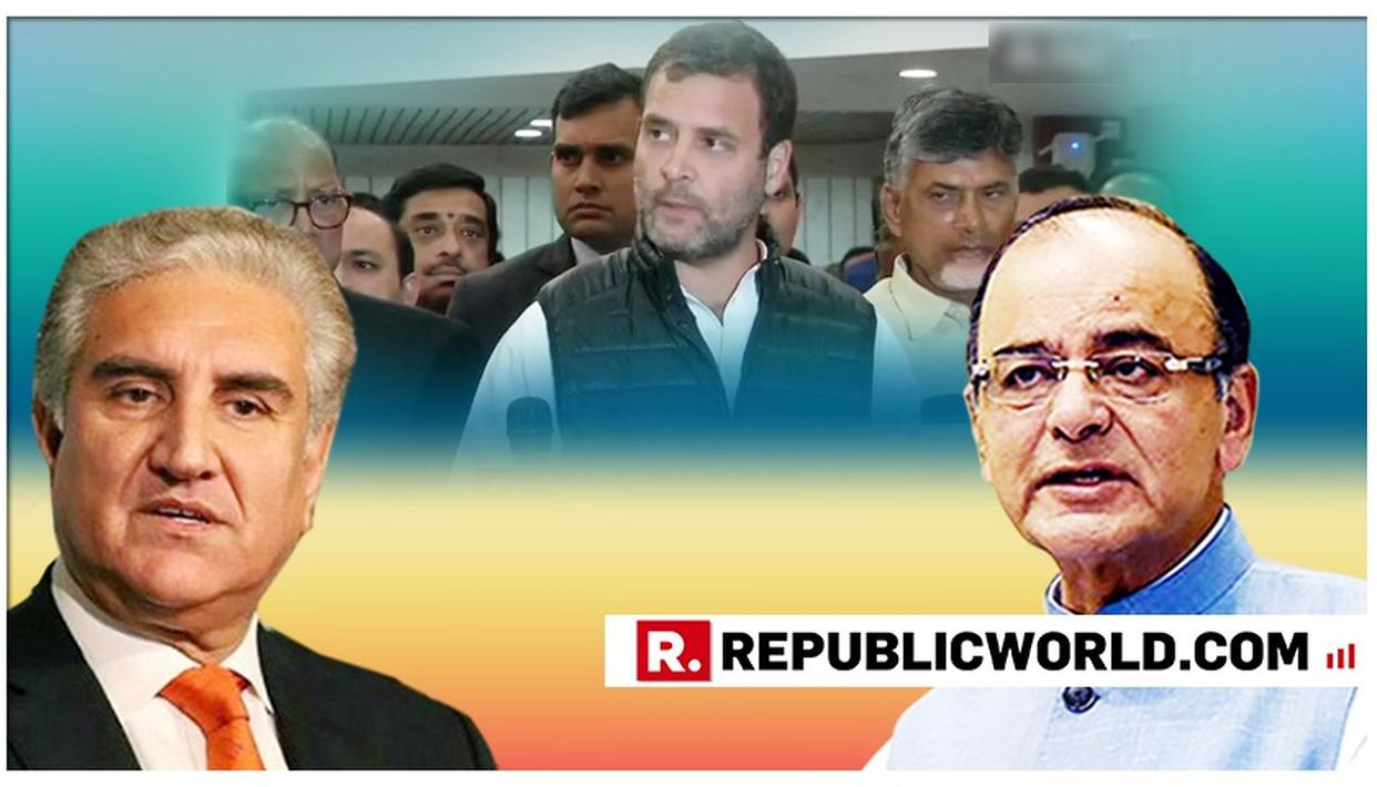 """""""INTROSPECT, YOUR ILL ADVISED STATEMENT IS BEING USED BY PAKISTAN TO BOLSTER ITS CASE"""", SAYS ARUN JAITLEY TO OPPOSITION, AFTER IMRAN KHAN'S MINISTER TAKES THEIR LINE"""