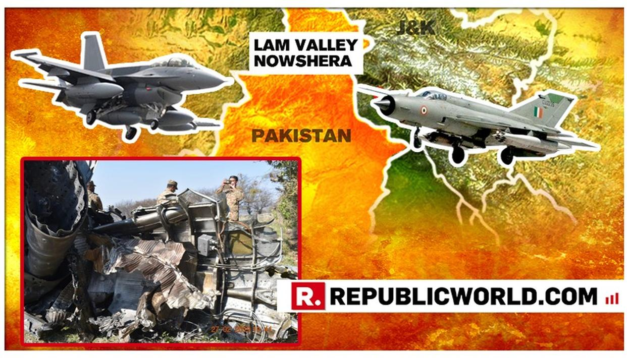 MUST SEE: PICS OF PAK F-16 WHICH IAF SHOT DOWN