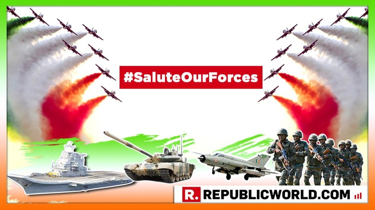 #SALUTEOURFORCES | JOIN REPUBLIC TV'S CAMPAIGN AS WE HONOUR THE VALOR OF OUR BRAVE ARMED FORCES