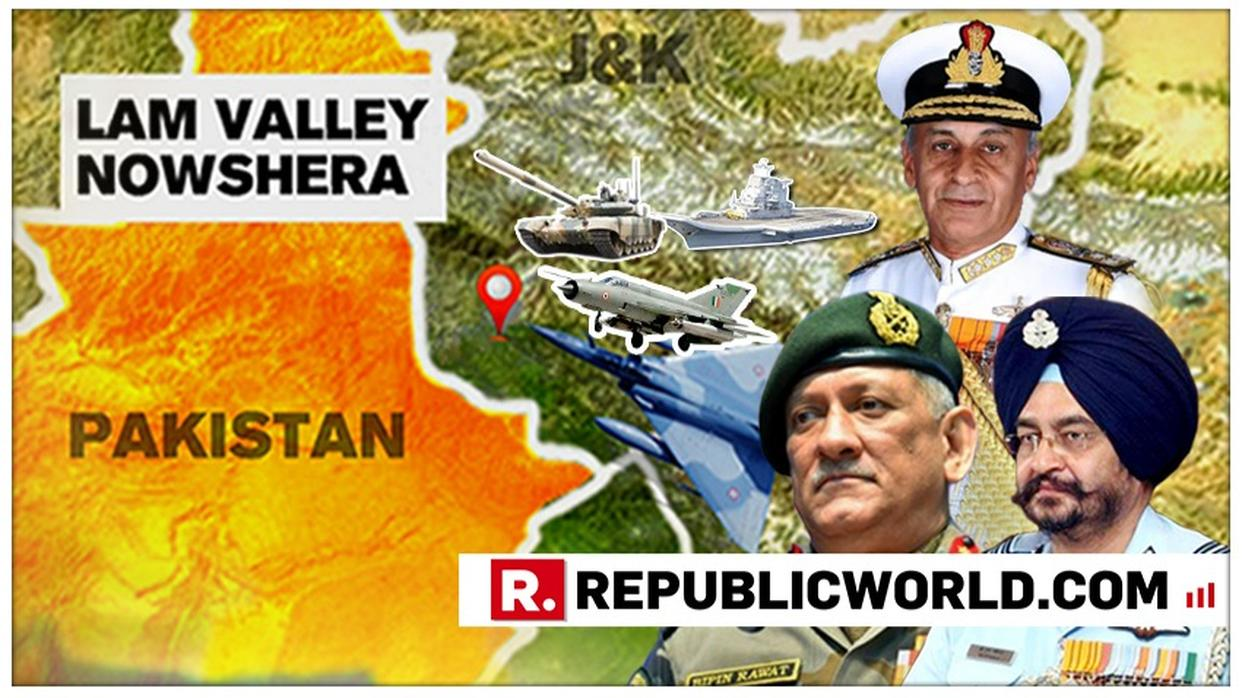 LIVE: INDIAN ARMY, NAVY AND AIR FORCE TO HOLD JOINT BRIEFING. FOLLOW ALL UPDATES HERE