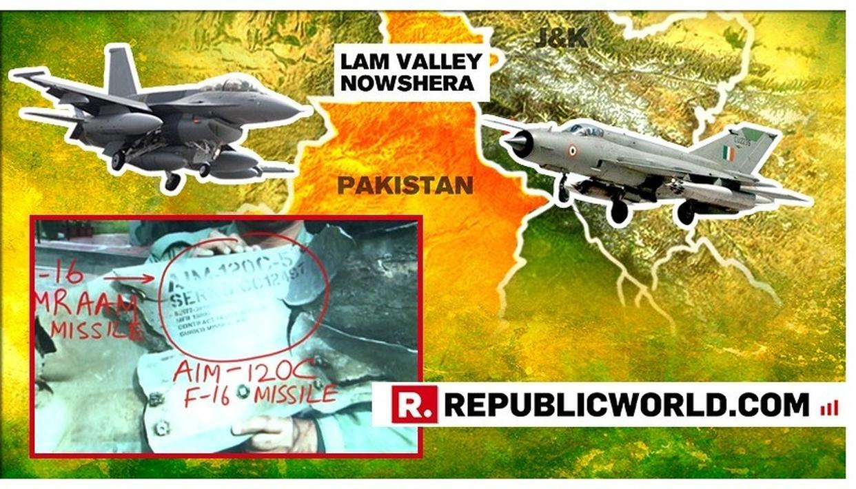 ULTIMATE PROOF AGAINST PAK: REPUBLIC BUSTS PAKISTAN'S CLAIM AS PROOF OF PAK'S F-16 FIRING AMRAAM MISSILE AT INDIAN TARGET RECOVERED
