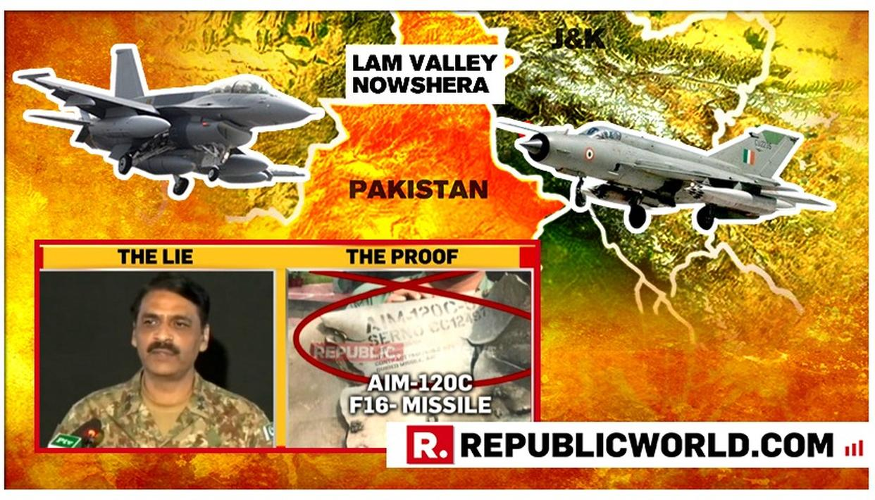 ANOTHER PAK LIE CAUGHT: MAJOR GENERAL GHAFOOR, STOP LYING, HERE'S PROOF OF INDIAN FORCES BRINGING DOWN YOUR F-16 AIRCRAFT