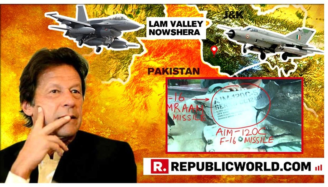 "PAK PM IMRAN KHAN'S ""JUST WANTED TO TELL INDIA THAT WE HAVE THE CAPABILITY"" LIE EXPOSED AS INDIA RECOVERS WRECKAGE OF F-16 MISSILE"