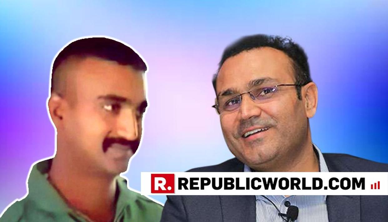 'WE ARE SUPPOSED TO TELL YOU THIS': VIRENDER SEHWAG SHARES NATION'S PRIDE FOR IAF WING COMMANDER ABHINANDAN VARTHAMAN WITH A BEAUTIFUL SKETCH