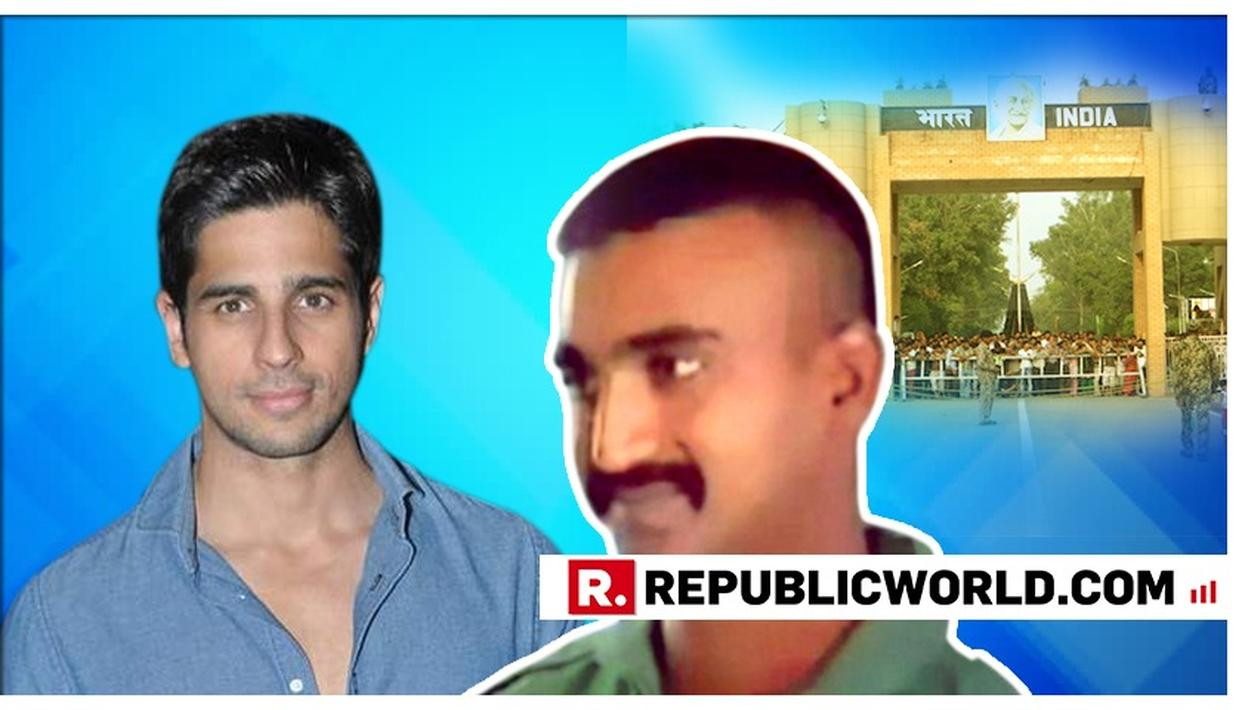 'YOU ARE A REAL HERO AND WE AS NATION STAND BESIDE YOU': SIDHARTH MALHOTRA THANKS IAF WING COMMANDER ABHINANDAN VARTHAMAN FOR HIS 'SELFLESS SERVICE'