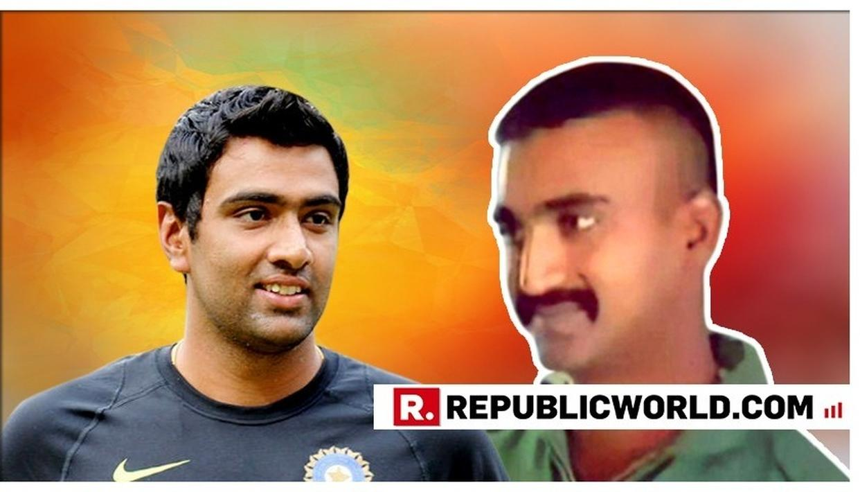 IN MY TIME ALIVE ON THIS PLANET, I HAVEN'T SEEN A BIGGER HERO: RAVICHANDRAN ASHWIN ON IAF WING COMMANDER ABHINANDAN VARTHAMAN