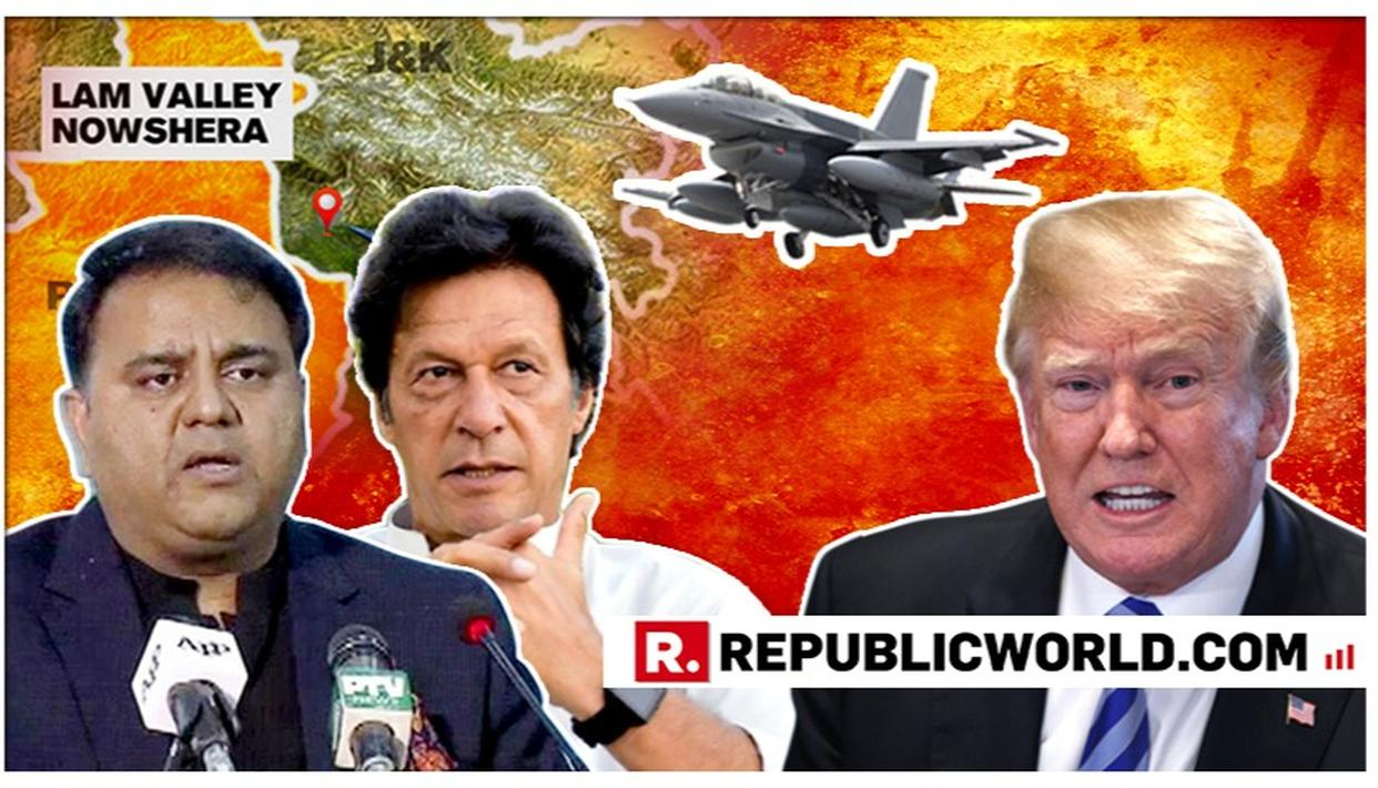 PAKISTAN FLOUTS US SALES-AGREEMENT, IMRAN KHAN'S MINISTER SAYS 'WE PURCHASED F-16 JETS, WE WILL DECIDE WHERE TO DEPLOY THEM'