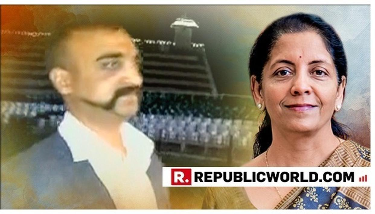 """""""JAI HIND"""": RAKSHA MANTRI NIRMALA SITHARAMAN'S REACTION TO IAF WING COMMANDER ABHINANDAN'S ENTRY INTO OUR COUNTRY ECHOES EVERY INDIAN'S FEELING"""