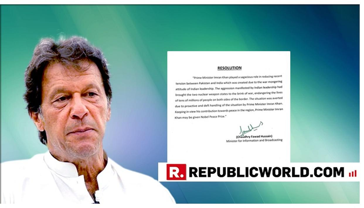 """WATCH: """"The Nobel Peace prize would rather wind up than give itself to Imran Khan"""": Sushil Pandit on Pakistan's deluded resolution"""