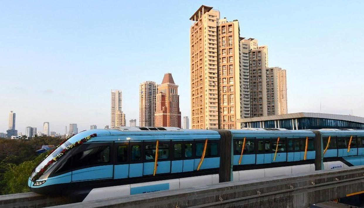 MUMBAI MONORAIL, COUNTRY'S FIRST MONORAIL NETWORK, NOW FULLY OPERATIONAL. DETAILS HERE