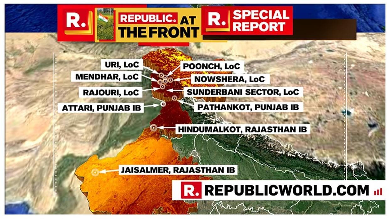 REPUBLIC AT THE FRONT: LIVE UPDATES ON THE SITUATION AT THE FRONTIERS WITH PAKISTAN