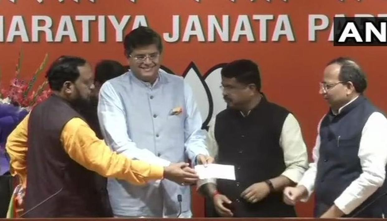 THIS IS JAY PANDA'S FIRST STATEMENT AS A BJP LEADER