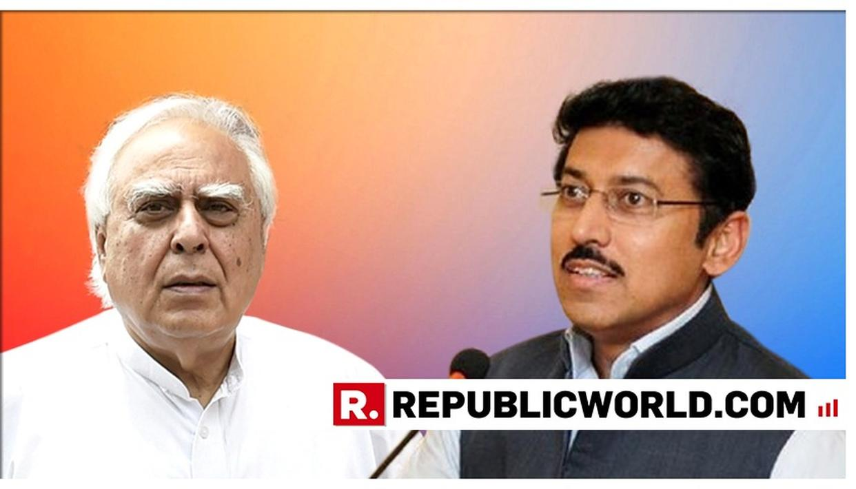 """YOU WENT TO LONDON FOR EVIDENCE AGAINST EVMS, WILL YOU PLEASE ALSO GO TO BALAKOT TO CHECK?"", COL RAJYAVARDHAN RATHORE TAKES ON KAPIL SIBAL FOR QUESTIONING IAF STRIKE' EFFICACY"