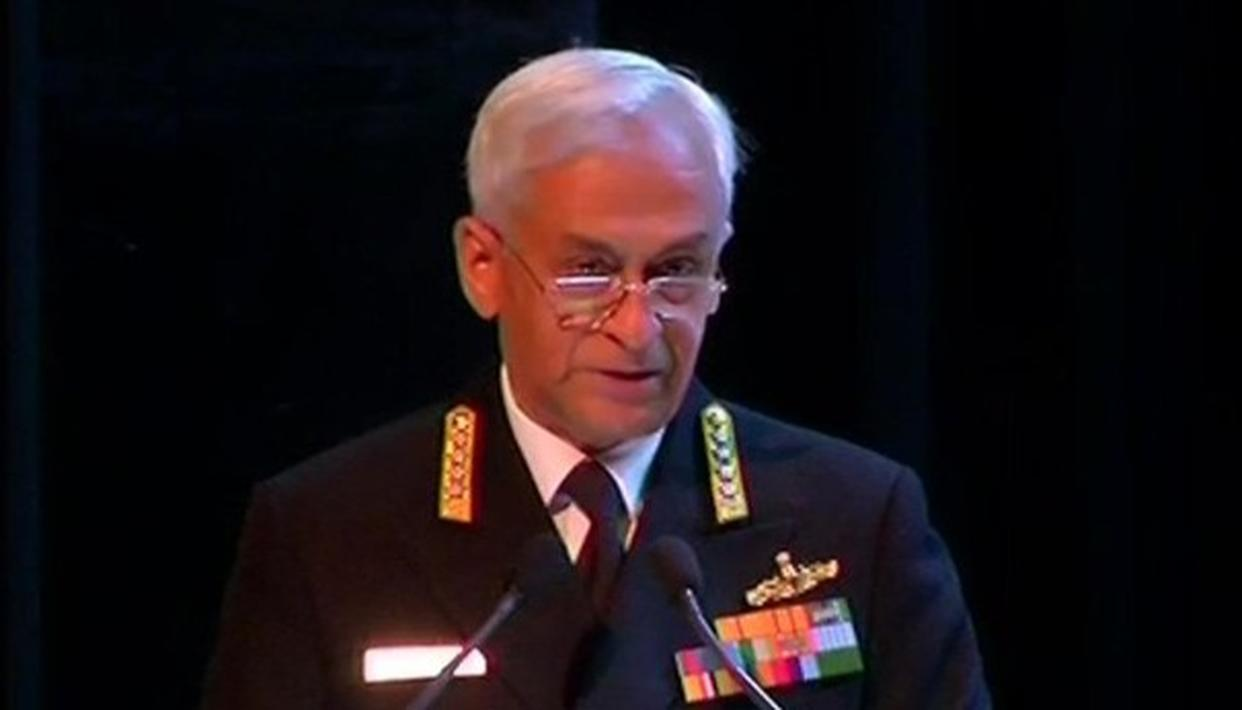 """INDIA FACES A FAR MORE SERIOUS VERSION OF TERRORISM"": NAVAL CHIEF ADMIRAL SUNIL LANBA"