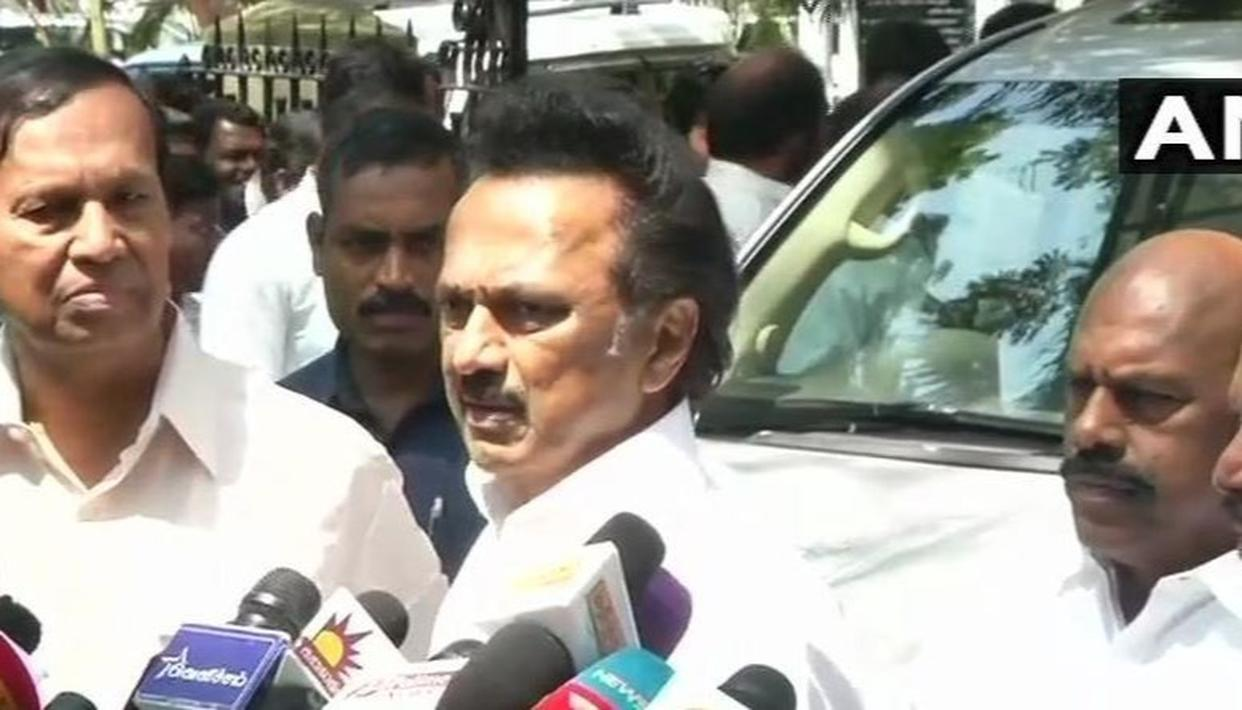 'DMK TO CONTEST 20 SEATS IN TAMIL NADU AND PUDUCHERRY, CONGRESS FROM 10', SAYS STALIN, LEAVING 5 OUT OF 40 UP FOR GRABS BEFORE 2019 LOK SABHA POLLS