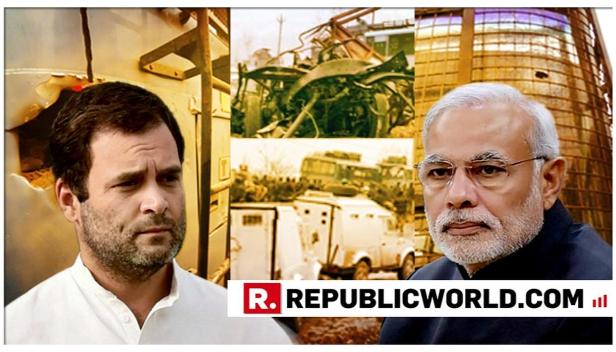 WATCH: PM MODI SLAMS CONGRESS, SAYS 'THEY WERE SOFT ON TERROR WHILE IN POWER; ARE QUESTIONING SURGICAL STRIKE AND AERIAL STRIKES IN OPPOSITION'