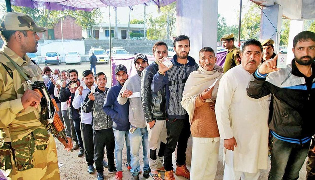 POLITICAL PARTIES IN JAMMU ADVOCATE SIMULTANEOUS ASSEMBLY, LOK SABHA POLLS