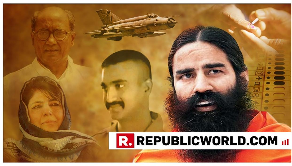 EXCLUSIVE: FROM POLITICISATION OF AIR-STRIKES, TO WING COMMANDER ABHINANDAN AND EVEN RAM MANDIR, BABA RAMDEV ELABORATES ON THE BRIMMING ISSUES