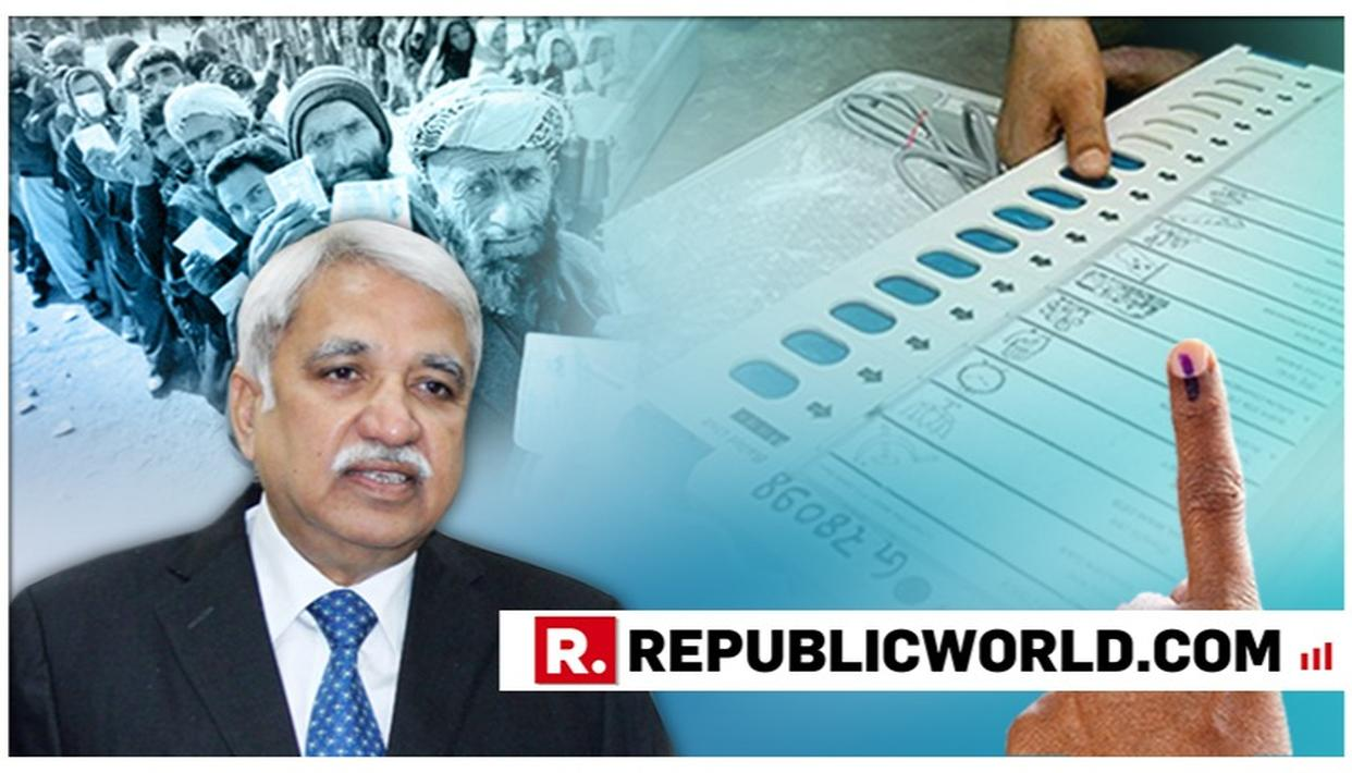 """ALMOST ALL PARTIES IN J&K WANT STATE POLLS WITH LOK SABHA ELECTIONS,"" SAYS CEC SUNIL ARORA DURING TWO DAY VISIT IN STATE"
