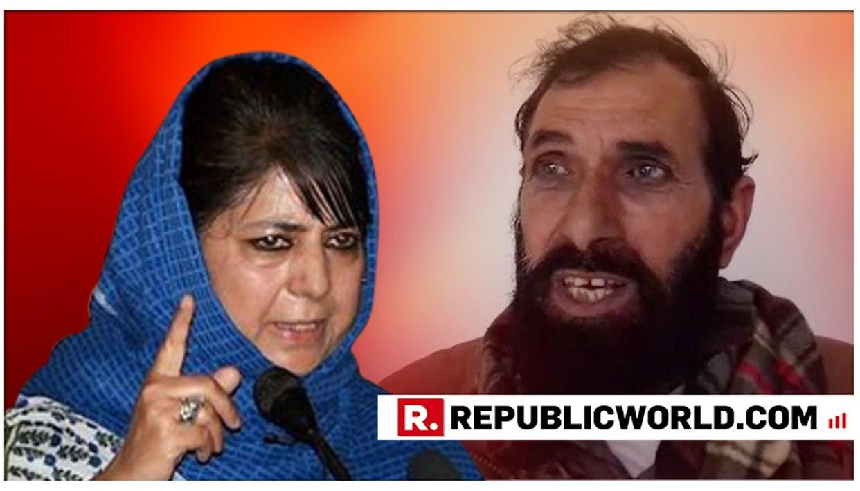 WATCH: MARTYRED ARMY RIFLEMAN AURANGZEB'S FATHER SLAMS MEHBOOBA MUFTI OVER REMARKS AGAINST AIR INDIA'S 'JAI HIND' ORDER