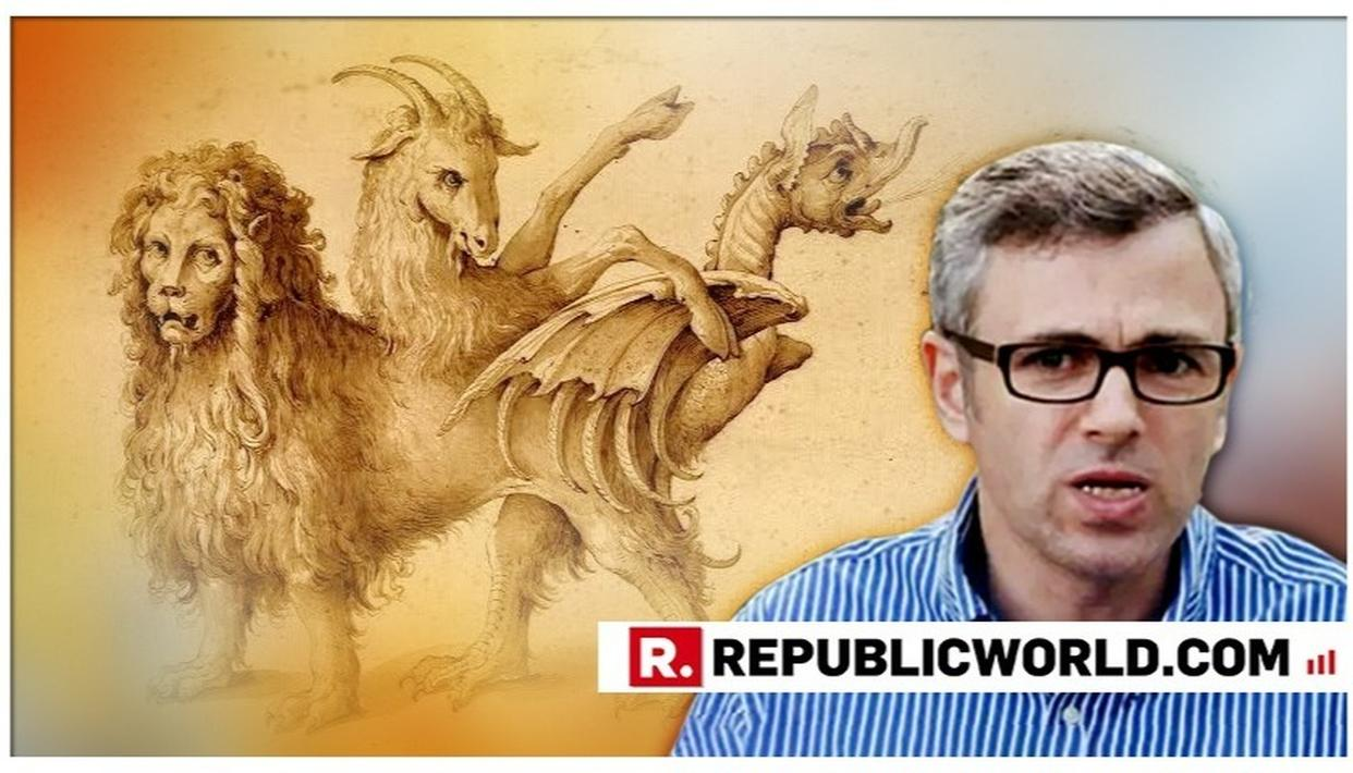 OMAR ABDULLAH COMPARING OPPOSITION UNITY WITH A CHIMERA HAS LEFT NETIZENS BAMBOOZLED