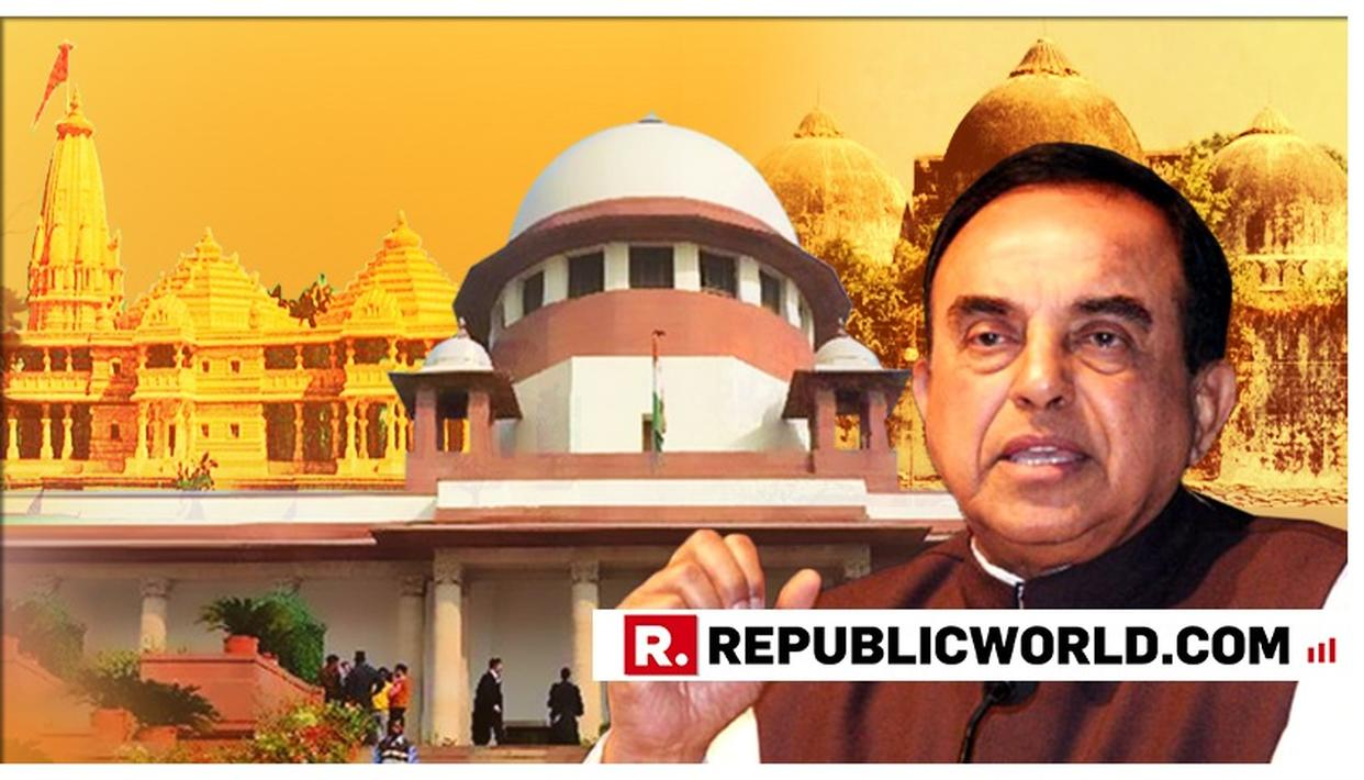 "WATCH: ""GOVERNMENT HAS COMPLETE DISCRETION ON WHOM TO GIVE THE LAND"", SAYS DR SUBRAMANIAN SWAMY CALLING MEDIATION A ""STERILE EXERCISE"" AFTER THE SUPREME COURT RESERVES ITS ORDER"