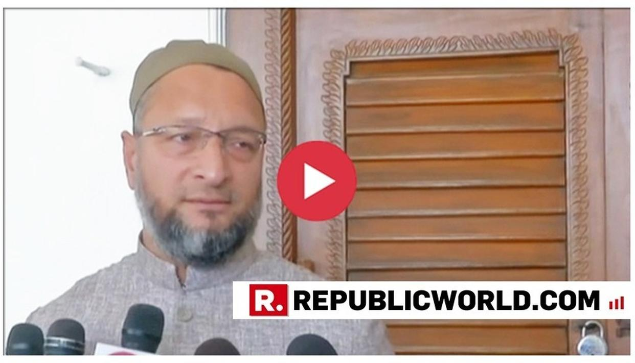WATCH: IN TWO PERFECT WORDS, AIMIM'S ASADUDDIN OWAISI DEMOLISHES MEHBOOBA MUFTI'S STAND ON AIR INDIA'S 'JAI HIND' MANDATE