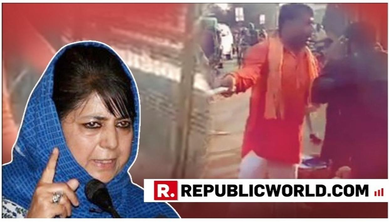 DID MEHBOOBA MUFTI RATIONALISE PICKING UP ARMS AGAINST THE COUNTRY?