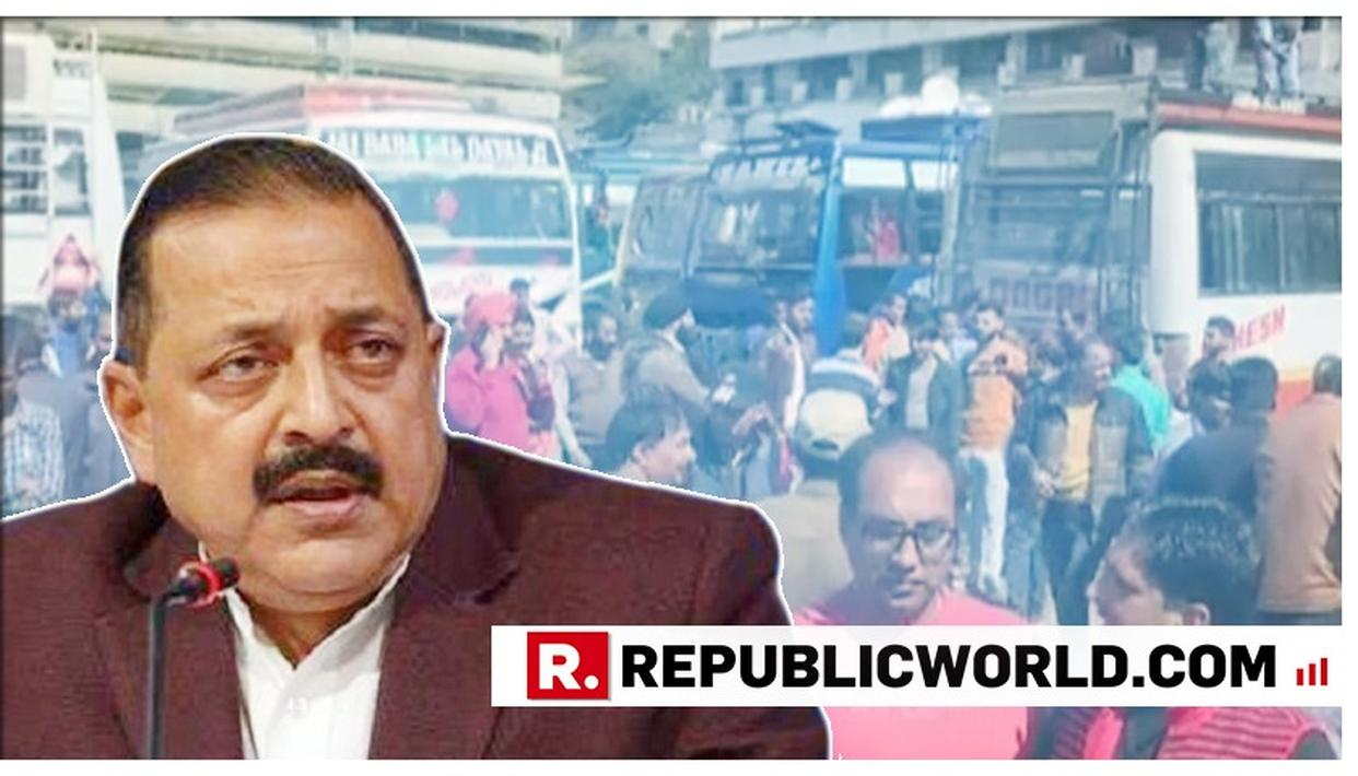 "WATCH: ""SPOOKED BY GOVERNMENT'S ACTION, TERRORISTS ARE INDULGING IN THESE GRISLY ACTIVITIES"", MOS PMO DR JITENDRA SINGH CONDEMNS THE JAMMU GRENADE ATTACK"