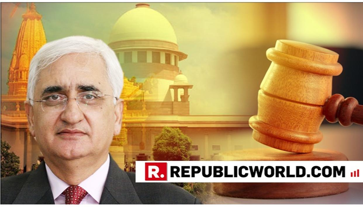 CONGRESS' SALMAN KHURSHID WELCOMES SUPREME COURT'S ORDER FOR 3-MEMBER PANEL MEDIATION IN AYODHYA CASE