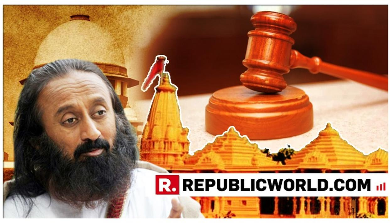 SRI SRI'S FIRST RESPONSE TO BEING APPOINTED TO SC'S AYODHYA MEDIATION PANEL