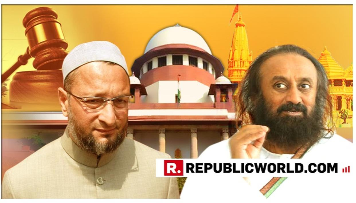 WATCH: Sri Sri Ravi Shankar responds to Asaduddin Owaisi's 'not neutral' remark on his appointment to Ayodhya mediation panel