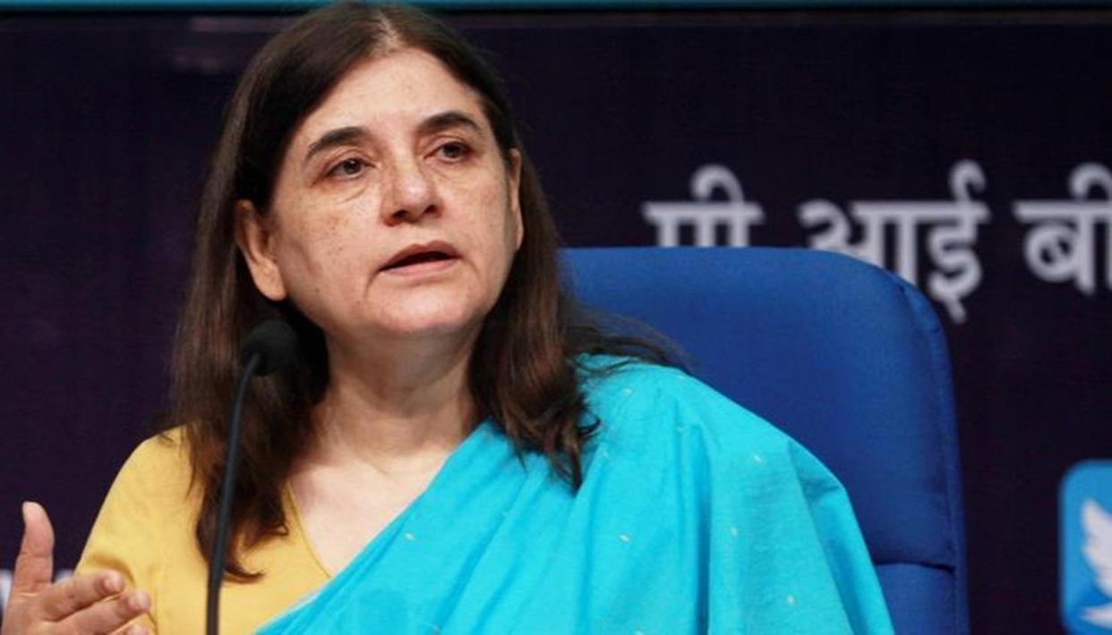 BY ENSURING WOMEN'S SAFETY, NDA HAS SET 'VERY HIGH' BENCHMARK FOR NEXT GOVERNMENT: MANEKA GANDHI