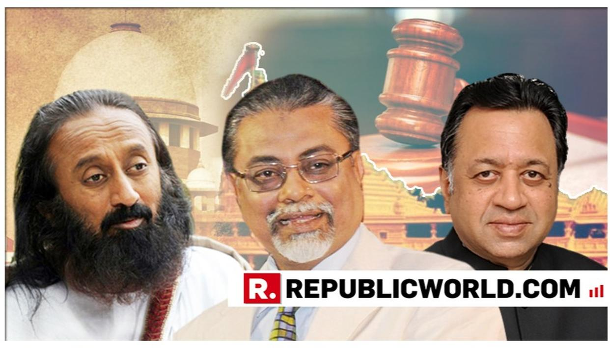 FORMER SC JUSTICE KALIFULLA, SRI SRI RAVI SHANKAR, SRIRAM PANCHU ISSUE RESPONSES AFTER BEING APPOINTED AYODHYA MEDIATORS: HERE'S WHAT THEY SAID
