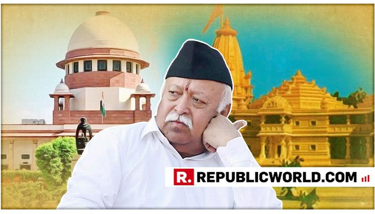 SC'S AYODHYA STAND 'SURPRISING': RSS