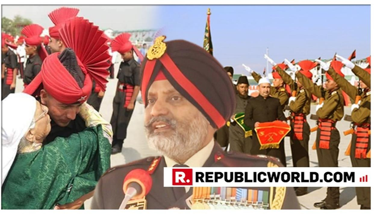 WATCH: 152 KASHMIR YOUTH JOIN INDIAN ARMY'S LIGHT INFANTRY REGIMENT; LT GEN KJS DHILLON ADDRESSES PASSING OUT PARADE