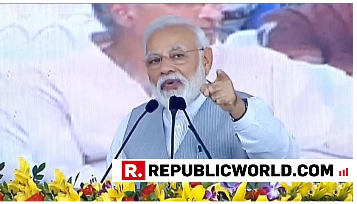 WATCH: 'PAKISTAN IS CRYING AND THESE PEOPLE ARE HELPING THEM': PM MODI SLAMS OPPOSITION, SAYS RECOGNISE THIS 'TUKDE TUKDE GANG'
