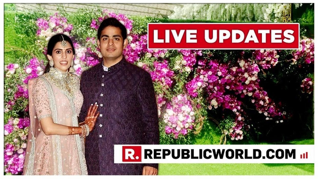 RED CARPET LIVE UPDATES: AKASH AMBANI-SHLOKA MEHTA TO TIE THE KNOT IN MUMBAI, WHO'S WHO EXPECTED AT THE GRAND WEDDING